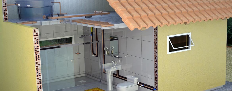 c3477fa0b Como trocar a caixa d água atual por uma maior - A Sua Obra