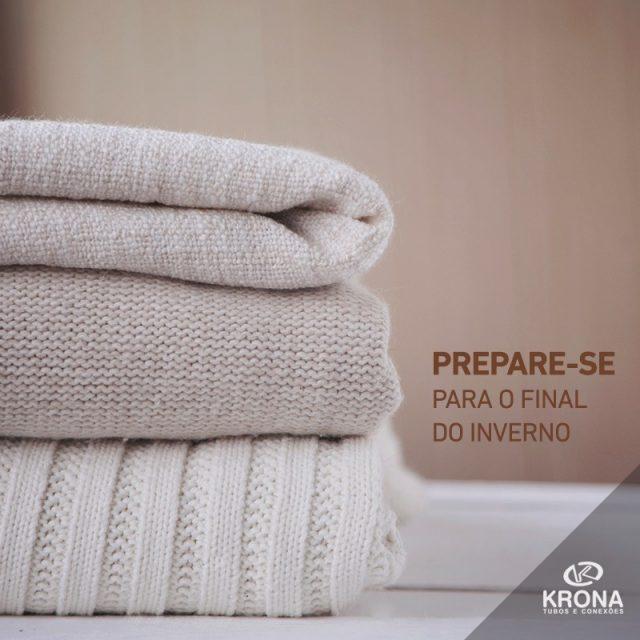 O final do inverno est chegando hora de guardar cobertoreshellip