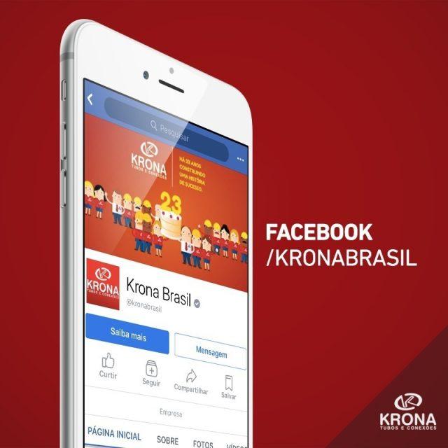 A Krona tambm est no Facebook! Acompanhe nossas postagens porhellip