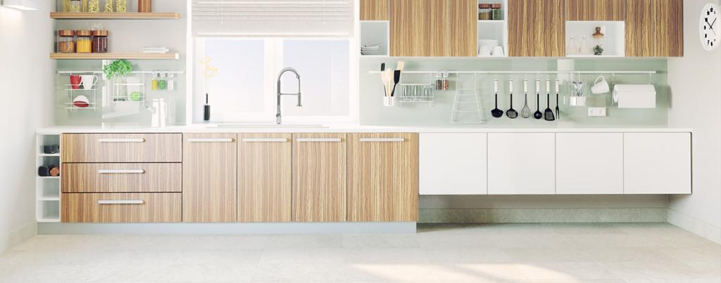 piso ideal para a cozinha