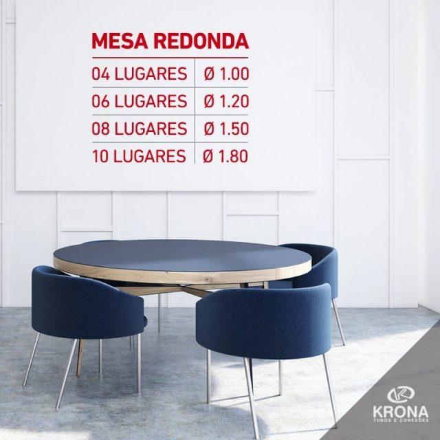 Decidiu colocar uma mesa redonda na sala? Confira o tamanhohellip
