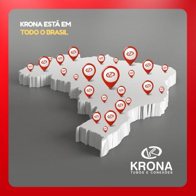 Krona est em todo o Brasil levando solues em tuboshellip